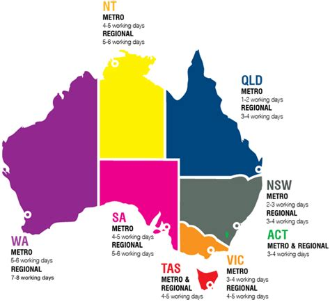 australia map with major cities major cities in australia map images