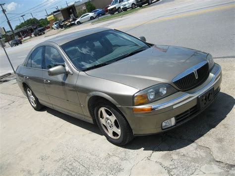 2001 lincoln ls v6 2001 lincoln ls v6 for sale 17 used cars from 1 998