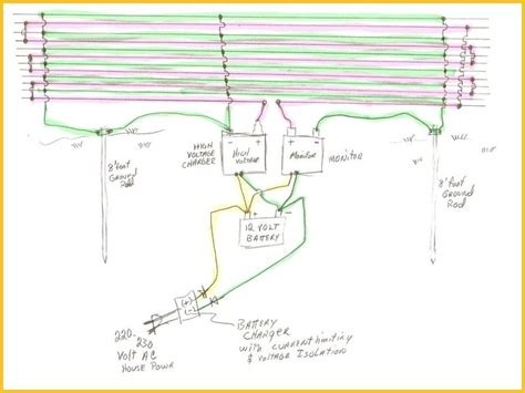 solar electric fence wiring diagram wiring diagram