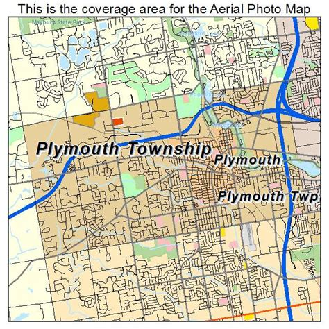 live plymouth mi aerial photography map of plymouth township mi michigan