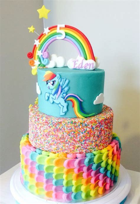 Everyone?s Favorite Rainbow Birthday Cake   Trends4us.Com