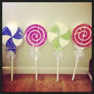 Candy Decorations Giant Lollipop Props Giant Lollipops Show Pinterest