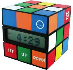 superior Unique Alarm Clocks For Teenagers #9: rubik-cube-clock.jpg