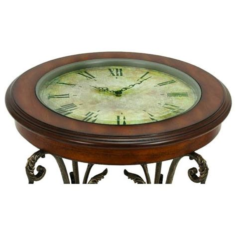 Clock Coffee Table Casa Cortes Designer Clock Coffee End Table