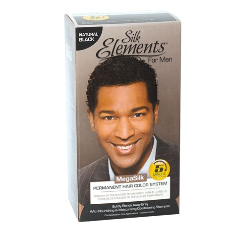 mens hair color products just for shoo in haircolour real black of