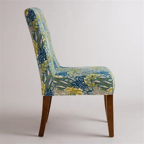 anna slipcover chair feather blue anna chair slipcover world market