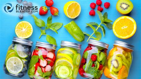 Fit Infused Water Bottle are there benefits to infused water or detox water or is