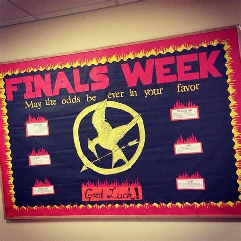 lights bulletin board prepare for finals week bulletin boards lights