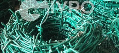 Pagar Kawat Duri Bandara kawat duri barbed wire pabrik pagar brc indonesia