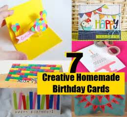 7 simple and creative birthday cards diy home things