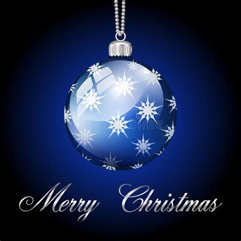 blue silver merry christmas ball stock illustration illustration  merry illustration