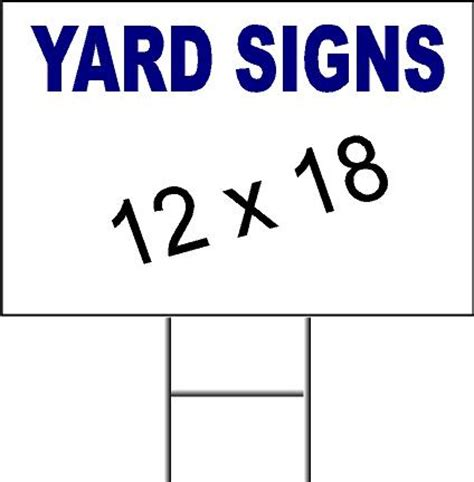 the secrete to buying yard signs