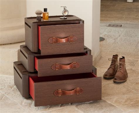 travel suitcase with drawers original suitcase drawers by fabio vinella