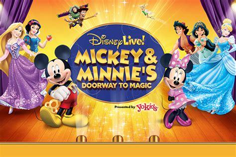 disney live mickey and minnies doorway disney live mickey minnie s doorway to magic des