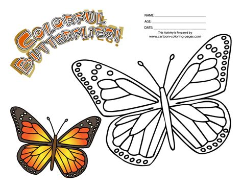 monarch butterfly coloring pages free free butterfly color by number coloring pages
