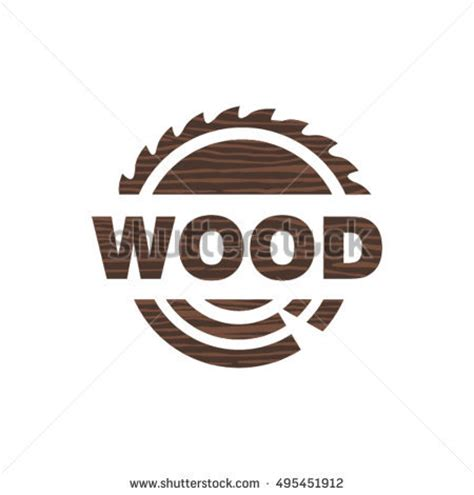 woodworking logo ideas woodworking logo design stock vector 354464675