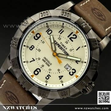 Timex Expedition Rugged Field Metal by Buy Timex Indiglo Expedition Rugged Metal Field Leather