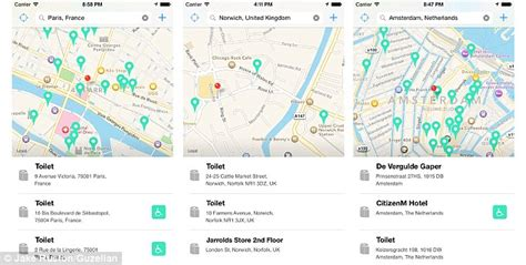 app to find public bathrooms how to make our public toilets more meaningful