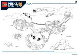 coloriage lego nexo knights monster productss 2 dessin