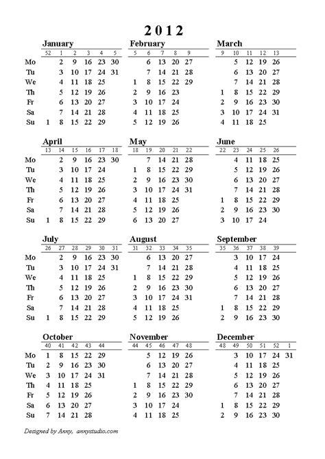 printable calendar 2015 uk with week numbers 2015 calendar with week numbers excel australia free