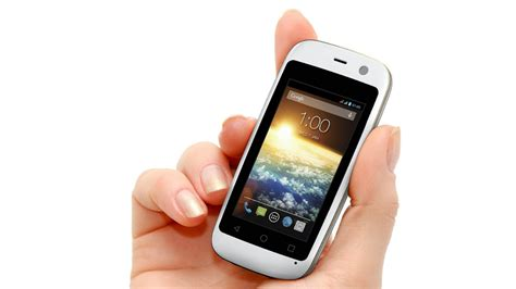 smallest android phone the world s smallest android smartphone is so so gizmodo uk