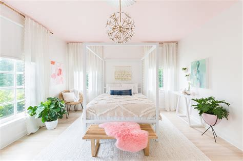 guess whose pink mexican bedroom this is popsugar home progress report elsie s bedroom a beautiful mess