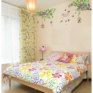 Tree Bird Cage 60x90 Wall Stickers Wall Decal Wall Stickers Wall Sticker