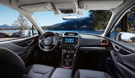 2019 Subaru Forester Interior by 2019 Subaru Forester Debuts With A Bigger Interior And