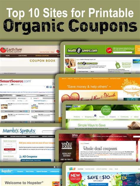 printable grocery coupons from california here are several printable organic food coupons resources