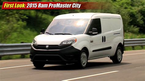 dodge work van first look 2015 ram promaster city cargo van youtube