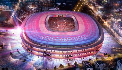 nou catal nivel c los m 225 s impresionantes estadios de f 250 tbol del futuro tiempo