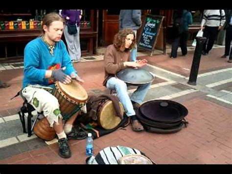 hang drum tutorial youtube djembe hang drum buskers on grafton st may10th 11