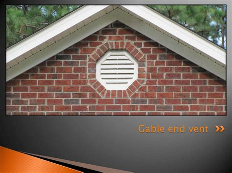 gable end attic exhaust gable roof vents home design ideas and pictures