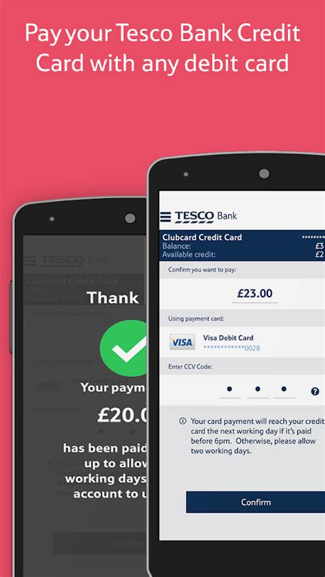 tesco bank debit card tesco bank mobile banking android apps on play