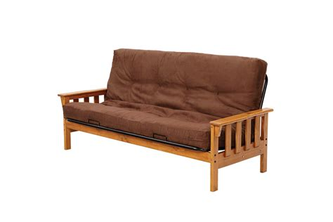 Pine Futon by Chelsea Home Mission Pine Futon Frame Honey Chf