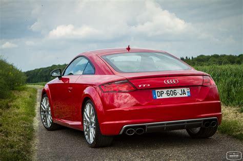 Test Audi Tts Coupe by Essai Audi Tts Coupe Exterieur 45 Le De Viinz