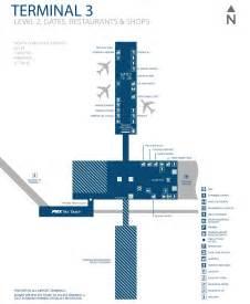 arizona airport map airport terminal 3 map