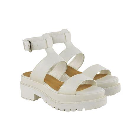 chunky white platform sandals white chunky platform sandals www pixshark images