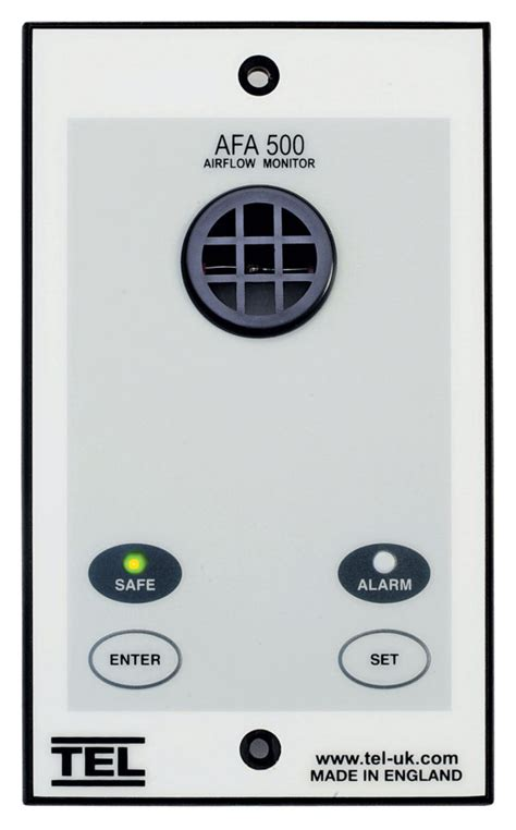 afa 500 audio visual fume alarm