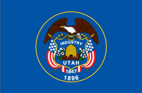 state seal of utah great seal of utah