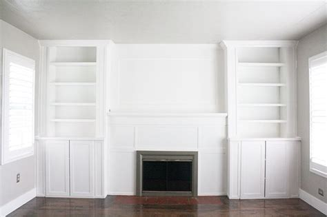 billy bookcase built in ikea hack built ins use inexspensive ikea cabinet and