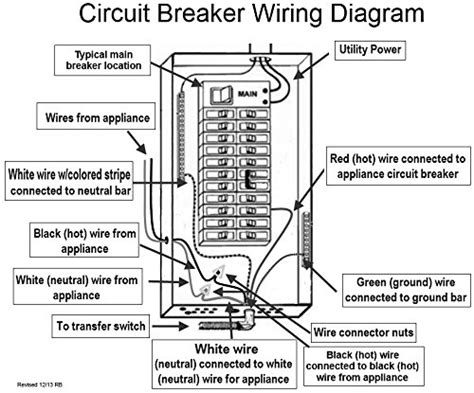 reliance transfer switch wiring diagram 28 images