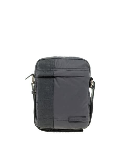 calvin klein alec flight bag lyst calvin klein flight bag in gray for