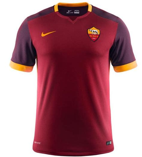 Jersey Roma Away new roma kit 15 16 as roma nike jersey 2015 2016 home