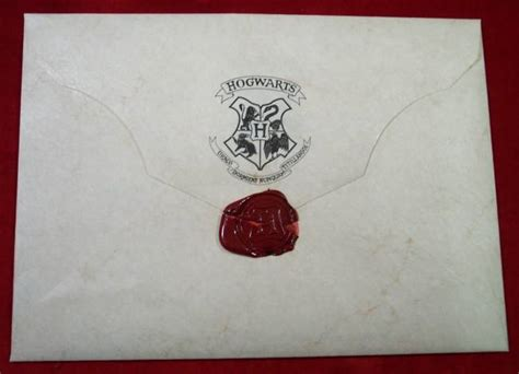 Harry Potter Acceptance Letter Envelope Hogwarts Acceptance Envelope With Warner Bros Letter Prop Store Ultimate Collectables