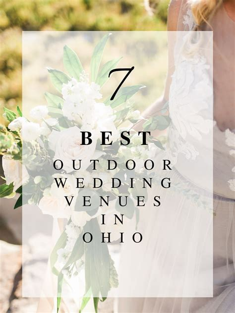 7 Best Outdoor Wedding Venues in Ohio   Roots Floral Design