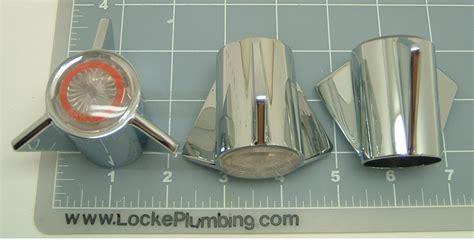 Sayco Plumbing Parts by Sayco P740c P740h P740d Three Metal Handle Kit Locke