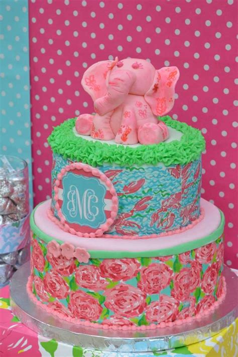 Lilly Pulitzer Decorations by Lilly Pulitzer Birthday Ideas Photo 3 Of 17