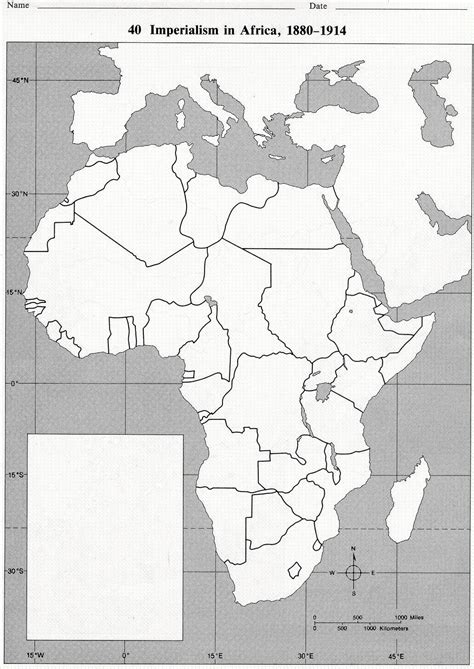 Outline Map Of The World 1914 by Blank Map Of Africa In 1914