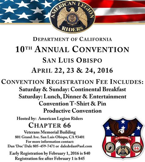 Legion Of Annual Report Template American Legion Riders Department Of California News